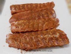 Scaricica(coaste) de porc la cuptor - Bunătăți din bucătăria Gicuței Bacon, Meat, Breakfast, Pork, Salads, Morning Coffee, Pork Belly