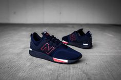 The New Balance 247 Is Here In Navy And Infrared • KicksOnFire.com
