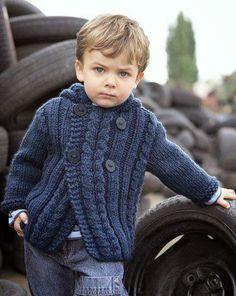 Santa Clara Artesanato: Blusas de tricô para meninos