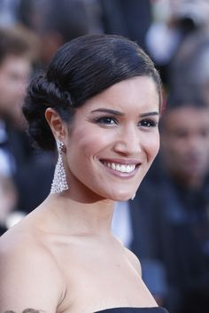 Cannes 2014 Sabrina Ouazani. Messika Earrings