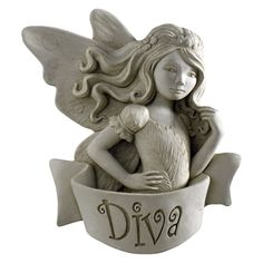 Diva Fairy Wall Plaque