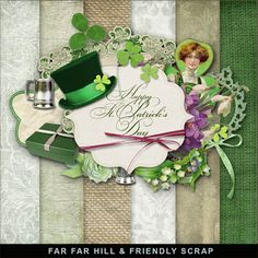 Far Far Hill: Freebies Kit - Happy St. Patrick's Day