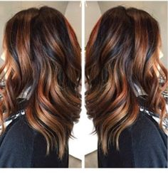 Tortoise Shell Hair Color (escallie). The next big salon request.  It's balyage with different tones