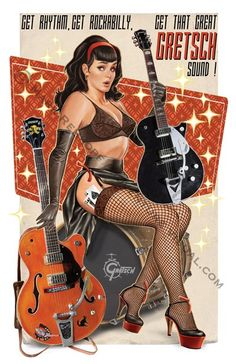 mark rehkopf*   This is a pretty cool poster with fishnet stocking and more.