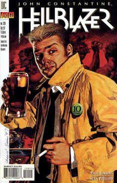 Comic Book Art: John Constantine: Hellblazer (101-200) Cover Art