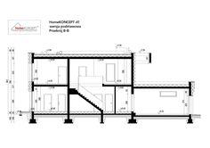 Projekt domu HomeKONCEPT-41   HomeKONCEPT Architecture Wallpaper, House Plans, Modern Design, Villa, Floor Plans, House Design, How To Plan, Alternative, Queen