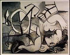 """Pablo Picasso 'The Rape Of Sabines""""   Signed Limited Edition With COA Out of an Edition of 95  Dimensions 20"""" x 16""""  http://www.zaidan.ca/Art_Gallery/Auctions/13_06_05_6_4_Dr._Watsons_Estate_Auction.htm"""