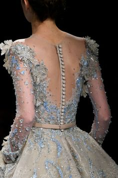 Ziad Nakad at Couture Spring 2017 - Ziad Nakad at Couture Spring 2017 – Details Runway Photos - Couture Fashion, Runway Fashion, Fashion Show, Couture Details, Fashion Details, Evening Dresses, Prom Dresses, Formal Dresses, Beautiful Gowns