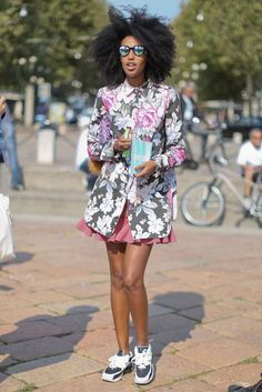 Milan Fashion Week Spring 2013  Julia Sarr-Jamois