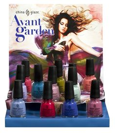 Fashion Polish: Blossom into Spring with China Glaze's NEW Avant Garden Collection