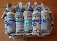 diaper babies - Windelbabys 'Boy', von Windeltorten By Evi auf DaWanda.com