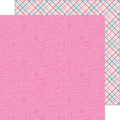 Doodlebug Design - Cream and Sugar Collection - 12 x 12 Double Sided Paper - Sugar Doodles at Scrapbook.com