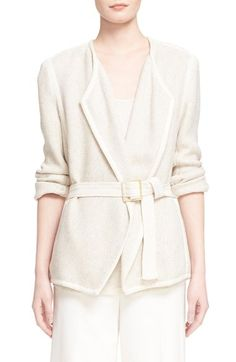 Vince Woven Cotton Blazer available at #Nordstrom