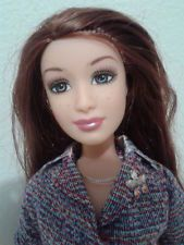 VHTF 2005 Fashion Fever Barbie Gillian Doll w/Freckles Brown Hair