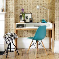 wohnideen arbeitszimmer home office büro - neutral büro zu hause ... - Wohnideen Kleine Arbeitszimmer
