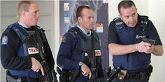 Police in New Zealand happened to be holding a drill in the city center when the shooting began, just miles from where the massacre unfolded. Recent News Articles, Judging Amy, Emergency Call, Nbc News, Coincidences, Police Officer, How To Know, Ny Times, New Zealand