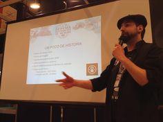 Salón del Gourmet 2015.  La desconocida despensa de Aragón.  Cerveza Ordio Minero.
