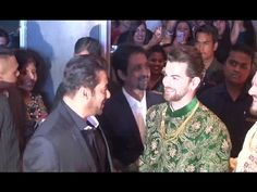 Salman Khan At Neil Nitin Mukesh & Rukmini Sahay's Grand Wedding Reception. Neil Nitin Mukesh, Salman Khan, Gossip, Wedding Reception, Interview, Music, Youtube, Pictures, Marriage Reception