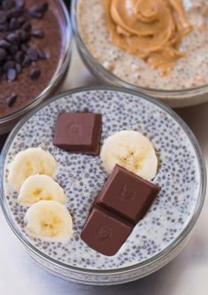 This quick and easy chia pudding recipe is great for beginners. It can be vegan gluten free paleo keto super healthy and completely delicious! Best Chia Pudding Recipe, Pudding Flavors, Pudding Recipes, Pudding Ideas, Banana Recipes, Chocolate Protein Powder, Chocolate Chip Banana Bread, Coconut Chocolate, Chocolate Bars