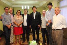 Folha certa : Robinson Faria reúne com diretores da Fiern e do S...