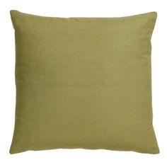 Villa Home // Basic Elements Green Throw Pillow