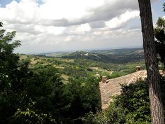 View from Canevino
