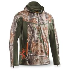 Under Armour® Reaper Ridge Early Season Hoodie, Realtree® AP™ HD - Camo Jackets at Sportsman's Guide Hunting Jackets, Hunting Clothes, Hunting Gear, Deer Hunting, Under Armour Hunting, Under Armour Camo, Camo Jacket, Motorcycle Jacket, Ridge Reaper