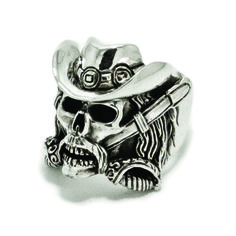 Confederate Skull Ring  The Great Frog London.com