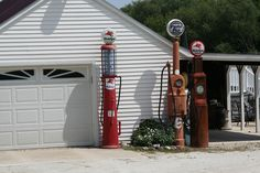 The old pumps