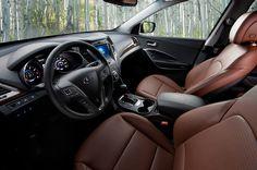 2015 Hyundai Santa Fe Interior View