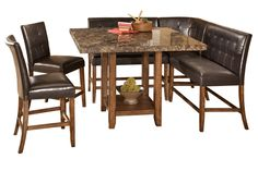 lacey dining room table...thinking i like this idea for outside patio thing
