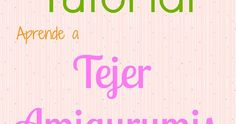 tutorial amigurumi cómo tejer how to crochet ganchillo peluche lana paso a paso videotutorial castellano español guía español castellano spanish Tutorial Amigurumi, Crochet Angels, Funny Phrases, Lily, Neon Signs, Knitting, Ballerina, Tricot, Crochet Sheep