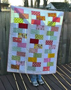 Charming Lucy: free quilt pattern | Charm Quilts | Pinterest ... : quick quilt ideas - Adamdwight.com