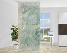 fotogardinen pusterblume schiebevorhang schiebegardinen 3d fotodruck auf ma ebay. Black Bedroom Furniture Sets. Home Design Ideas