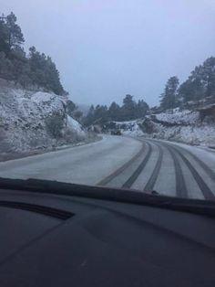 3 tramos carreteros congelados en Chihuahua por bajas temperaturas | El Puntero