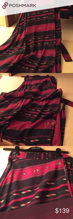 Blue Moon Navajo wrap maxi skirt Blue Moon Navajo wrap skirt all rayon- final price no offers accepted Blue Moon Skirts Maxi