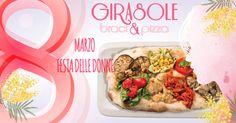 Festeggia la Festa della Donna con noi!! Pinsa Romana, braci e tanti antipasti per ogni gusto!! 8 Marzo, Vi aspettiamo!!  #festadelladonna #donna #8marzo #marzo #festeggiaconnoi #girasolebraciepizza