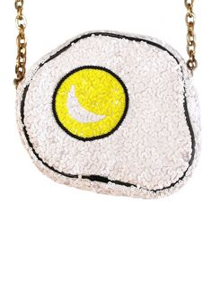 Sequin Fried Egg Bag | THE_RODNIK_BAND