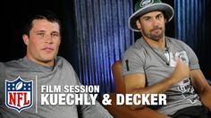 Luke Kuechly and Eric Decker Break Down Film | The Sessions | NFL