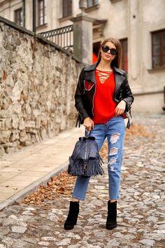 Plecak Let`s Go Boho blue Under Armour, Bomber Jacket, Michael Kors, Nike, Chic, Jackets, Style, Fashion, Shabby Chic