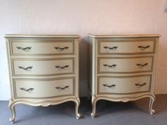 SOLD Vintage Drexel French Provincial Touraine 1950's by shopnancy