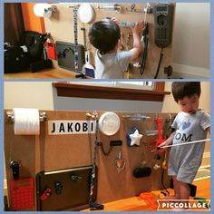 Finally made #myliljakobi his own #activityboard