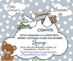 Convite Lorenzo