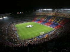 Watch La Liga's Catalan giants, FC Barcelona, at their home turf. Don't miss the chance to see Messi, Suarez and others play against their fiercest rivals at Camp Nou! Get VIP Players Zone tickets for the ultimate experience. Camp Nou Tickets, Ways To Travel, Countries Of The World, Fc Barcelona, Baseball Field, Online Marketing, Spa, Tours