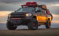 The new Rigid Industries ADAPT LED light bar offers 8 selectable beam patterns, custom accent lighting, and an adaptive mode based on vehicle speed. 2014 Toyota Tundra, Tundra Trd Pro, Tundra Crewmax, Lifted Tundra, Toyota 4x4, Toyota Trucks, Toyota Tacoma, Toyota Girl, Tundra Truck