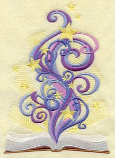 another book idea for kids Machine Embroidery Designs at Embroidery Library!
