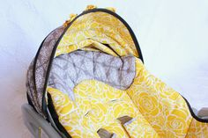 DIY carseat cover.I'll be making mine tomorrow!!!   Recovering a Baby Car Seat | Make It and Love It