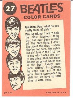 Paul Mccartney, Great Bands, Cool Bands, Rip Van Winkle, The Knack, Color Card, Colour, The Fab Four, Ringo Starr