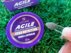 AGILE CERA NUTRITIVA UNHAS E CUTICULAS #Unhas #Nail #Nails   www.julianefreire.com.br