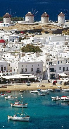 The Windmills of Mykonos, Greece